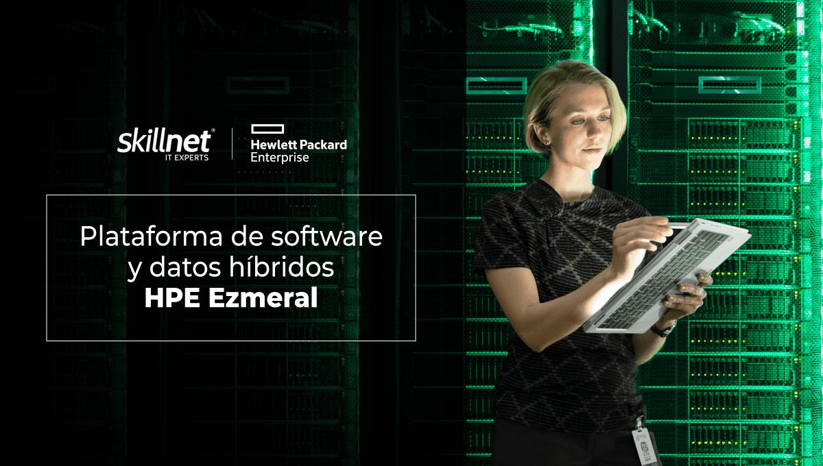 Plataforma de software y datos híbridos HPE Ezmeral